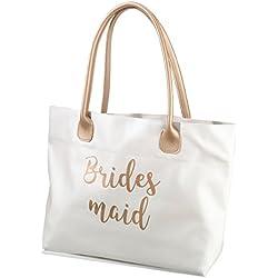 Lillian Rose Gold Bridesmaid Tote Bag
