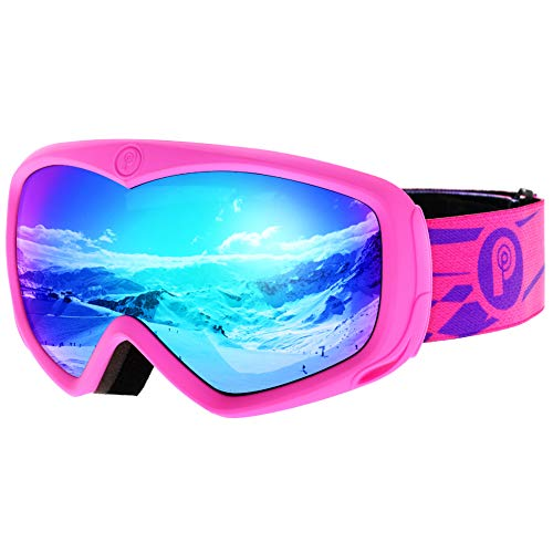 picador Ski Goggles Over The Glasses with Anti-Fog UV400 Protection Lens for Youth and Kids ()