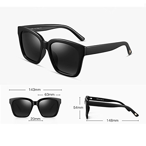 3bde96fa29 Gafas De Sol Polarizadas Para Mujer Lente Del Color De La Mujer Gafas  Wayfarer Moda UV
