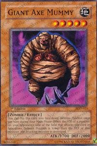 Yu-Gi-Oh! - Giant Axe Mummy (PGD-023) - Pharaonic Guardian - Unlimited Edition - Common - Giant Axe Toy