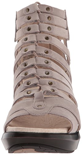 Jambu Sugar WoMen Sandal Wedge Taupe Too Black wxqwHrn05