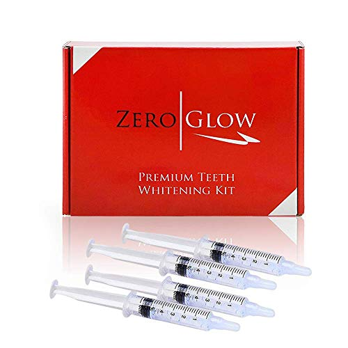Zero Glow Teeth Whitening Gel Refill 4x Syringes 44% Carbamide Peroxide
