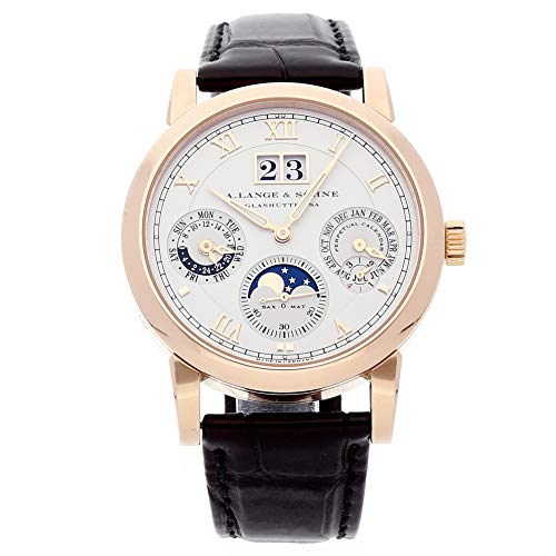 A. Lange & Sohne Langematik Perpetual Mechanical (Automatic) Silver Dial Mens Watch 310.032E (Certified Pre-Owned)