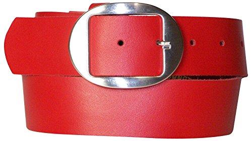 Ovale Argento Cm Fronhofer Conveniente Jeans Adatta Articolo Fibbia Rosso Vera In Ai Cintura Con 17881 Alta Pelle 4 Donna Da Estiva gwB8rqgv