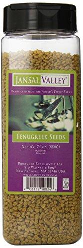 Jansal Valley Fenugreek Seeds, 24 Ounce by Jansal Valley