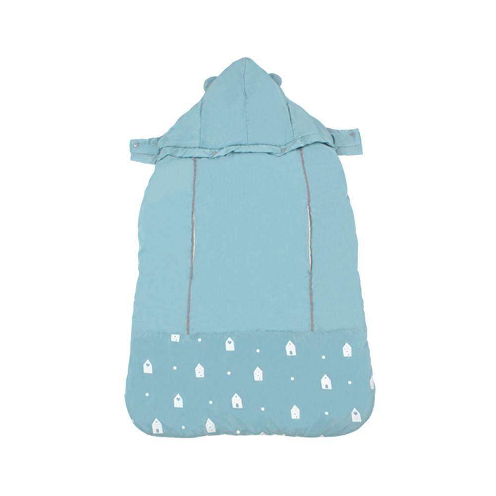 Luckybaby Baby Windproof Zaino - Inverno Caldo Marsupio Cover Windproof Baby Backpack Carrier Mantello Coperta con Warm Pocket - Warm Plush 0-36 Mesi