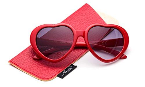 733691532af3 Newbee Fashion - Kyra Kids Girls Fashion Heart Shaped Sunglasses Vintage  Cute Heart Sunglasses for Girls