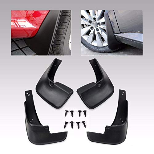 FidgetKute 4X Mudguard Fender Flare for Toyota Corolla 2014-2016 Splash Guard Protector Set
