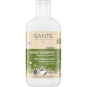 SANTE Naturkosmetik Shampooing réparateur au ginkgo bio et à l'huile d'olive