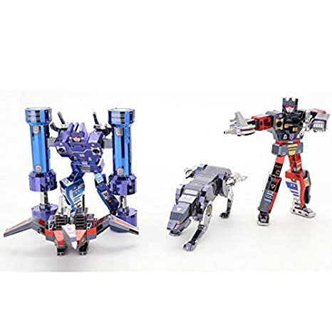 MU Transformers G1 Cassette Tape Laserbeak Ravage + Frenzy +