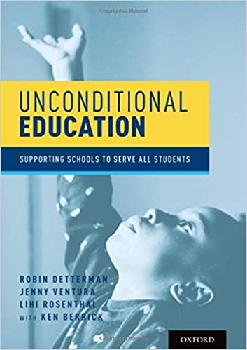 cover image, unconditional education