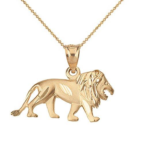 cool lion necklace