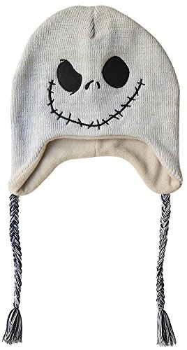 fc67e78af76e3 Nightmare Before Christmas- Jack Peruvian Beanie Size ONE SIZE - Import It  All