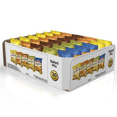 """Frito-Lay – Baked & Popped Mix Variety Pack Assorted 30 Bags Per Box """"Product Category: Breakroom And Janitorial/Beverages & Snack Foods"""""""