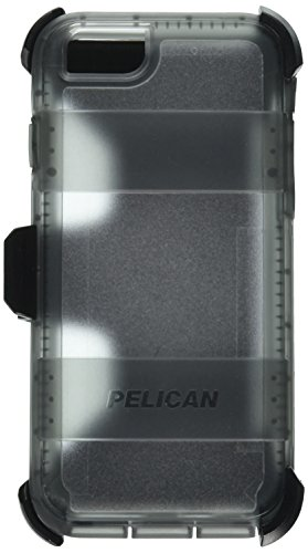 Pelican Voyager Rugged Case with Kickstand Holster for iPhone 6/6s - Retail Packaging - Clear & - Voyager Clip Belt Lg