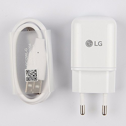 USB Charger Travel House White OZZZO Europe Plug for LG G6 mince-usb-blanc-609