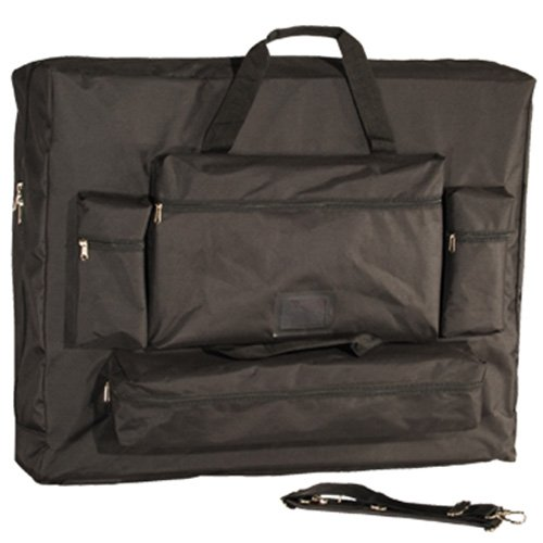 Royal Massage Deluxe Black Universal Oversized Massage Table Carry Case - 28