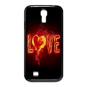 Samsung Galaxy S4 I9500 Phone Case Love Fire Q1A1358846
