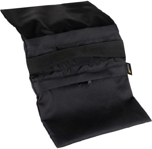 15 lb Impact Empty Saddle Sandbag Black Cordura
