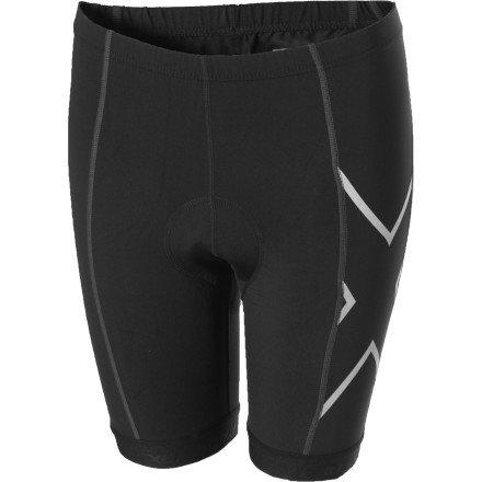 2XU Women's Compression Cycle Shorts, Black, Medium (2xu Compression Cycle Short)