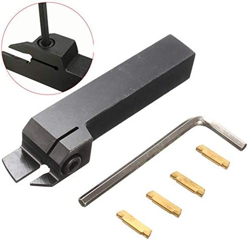 High Quality CNC Lathe Tool Accessories MGEHR1616-3 External Grooving Tool Turning Tool Holder for 3mm Cut with 4pcs MGMN300 Inserts