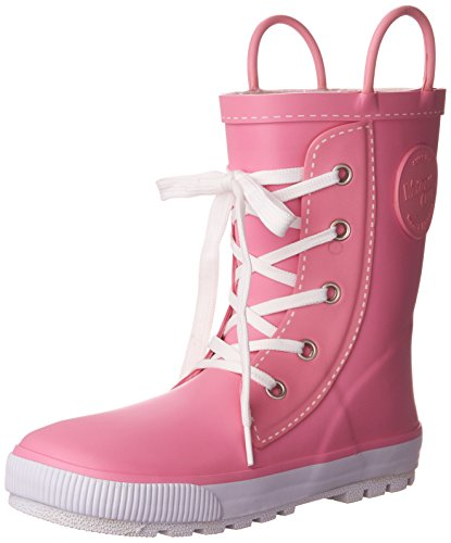 Western Chief Girls Printed Rain Boot, Sneaker Pink, 12 M US Little Kid