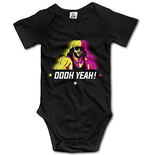 Fashion Baby Onesie Cotton Macho Man Oooh Yeah Romper Onesie Jumpsuit