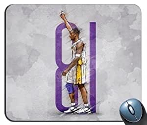 Kobe Bryant Point Master Mouse Pad by ruishername