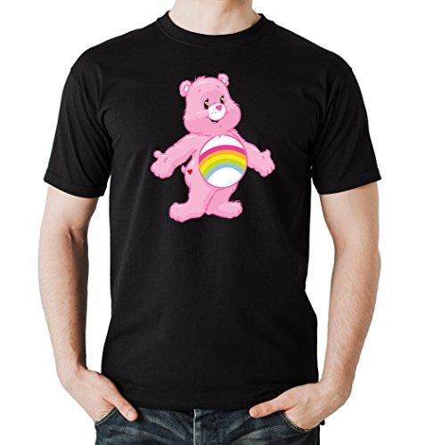 Old Rainbow Bear T-Shirt Black Certified Freak