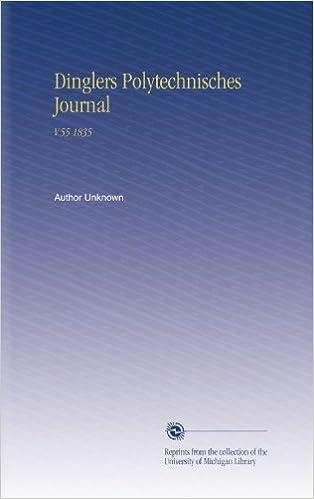 Dinglers Polytechnisches Journal: V.55 1835