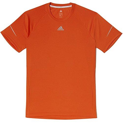 Adidas ClimaCool Run Herren Running Shirt Tee–Bold Orange