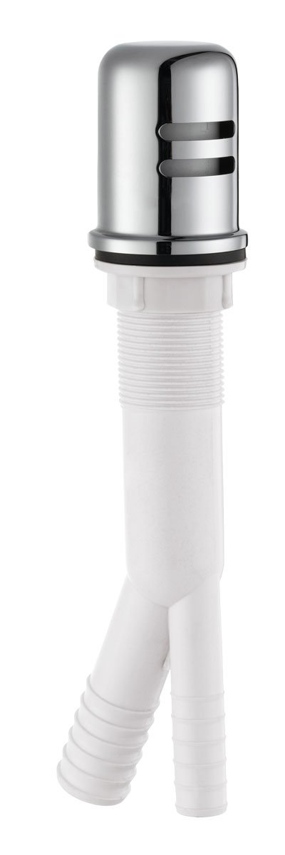 Design House 522946 Dishwasher Air Gap, Polished Chrome Finish