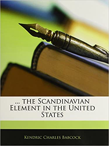 Book ... the Scandinavian Element in the United States