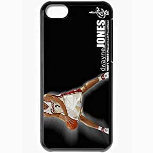 XiFu*MeiPersonalized iphone 6 4.7 inch Cell phone Case/Cover Skin Cleveland cavaliers nba cleveland cavaliers no dwayne jones desktop BlackXiFu*Mei