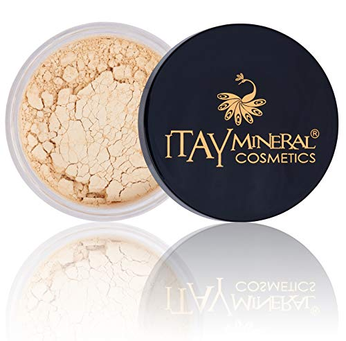 (Itay Mineral Cosmetics Natural Loose Mica Powder Foundation (MF-1 CREAM MARFIL))