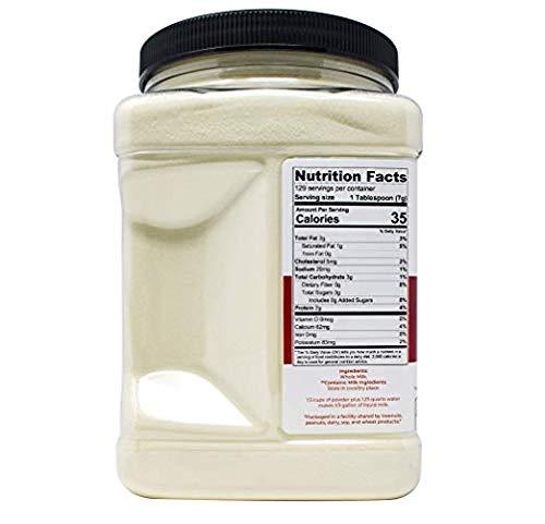 Hoosier Hill Farm All American Whole Milk Powder, 2 Pound (64 Ounce)