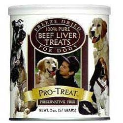 Gimborn Pro-Treat Freeze Dried Beef Liver Training Treats for Dogs, My Pet Supplies