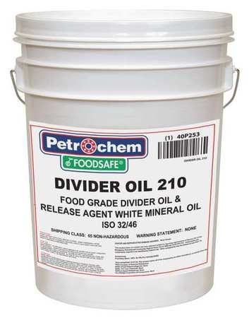 Divider Oil, Food Grade, 5 gal. by Petrochem