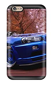 Anti-scratch And Shatterproof Wallpaper Car Nissan Skyline Phone Case For Iphone 6/ High Quality Tpu Case by icecream design