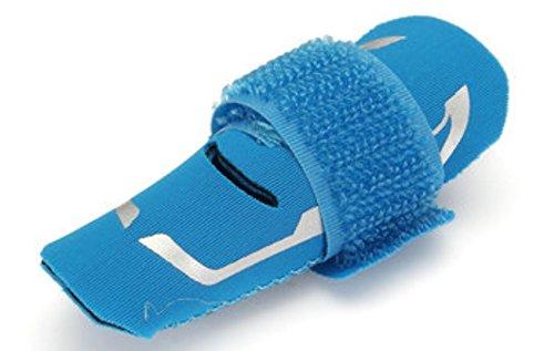 T-mac Basketball Shoes (Finger Splint Brace Support Protector Belt Bandage Pain Relief Outdoor Basketball Finger Protection by ShopIdea (Blue))