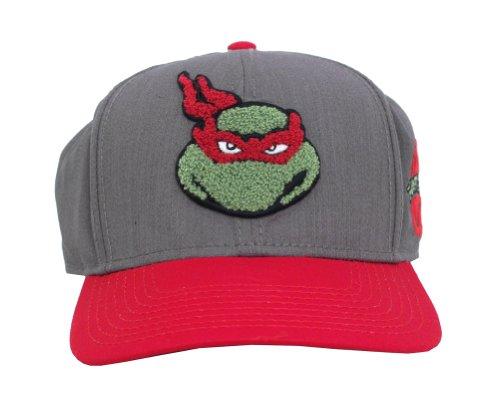 Raphael Teenage Mutant Ninja Turtles Patch Adult Snapback Baseball Cap Hat (Ninja Turtles Sensei)