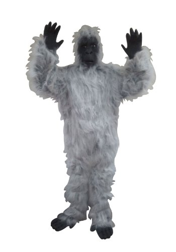 Gorilla (Black/White;One (White Gorilla Costume)