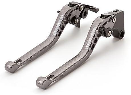 Fxcnc Motorrad Kupplungshebel Und Bremshebel Einstellbar Aluminium 3d Textur Sportlicher Stil Auto