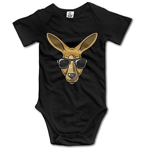 [Infants Boy's & Girl's KANGAROO Short Sleeve Bodysuit Outfits For 6-24 Months] (Rat Pack Women's Costume)