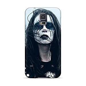 Bumper Cell-phone Hard Cover For Samsung Galaxy S5 (qLW14795ndcS) Provide Private Custom Colorful Dissection Band Image