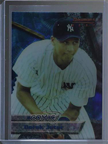 Derek Jeter (Baseball Card) 1994 Bowman's Best - Base Blue - Refractors #2