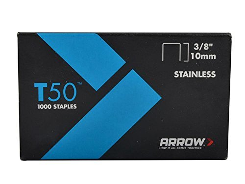 Arrow Fastener 506IP 3/8'' T50 Staples by Arrow Fastener