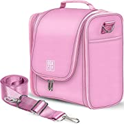 Extra Large Hanging Travel Toiletry Bag for Women and Men, Hygiene Bag, Bathroom and Shower Organizer Kit with Elastic…