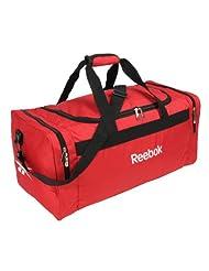 New Red Reebok Classic Lightweight Gym Duffle Team Bag