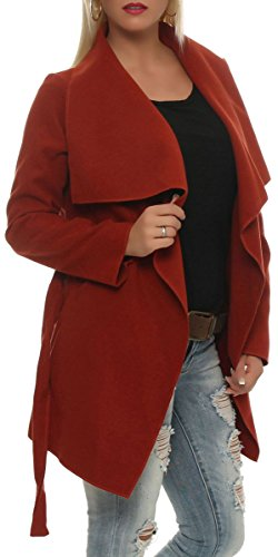 Enrouler Design Manteau court malito Cascade Veste Gilet Bol avec dw0qw5xROI